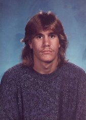 Chris in high school
