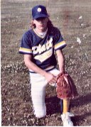 Chris in baseball uniform